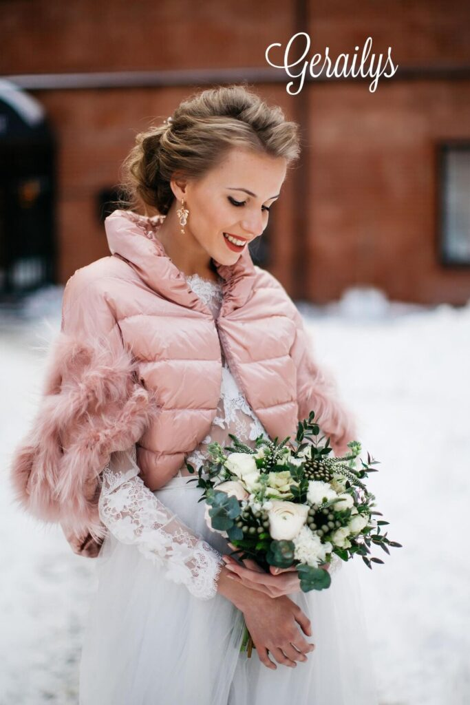 Верхняя одежда для невесты